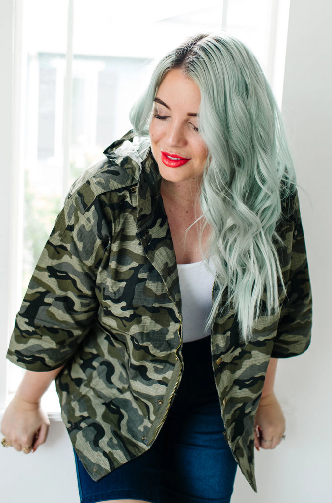Army Brat Cropped Jacket