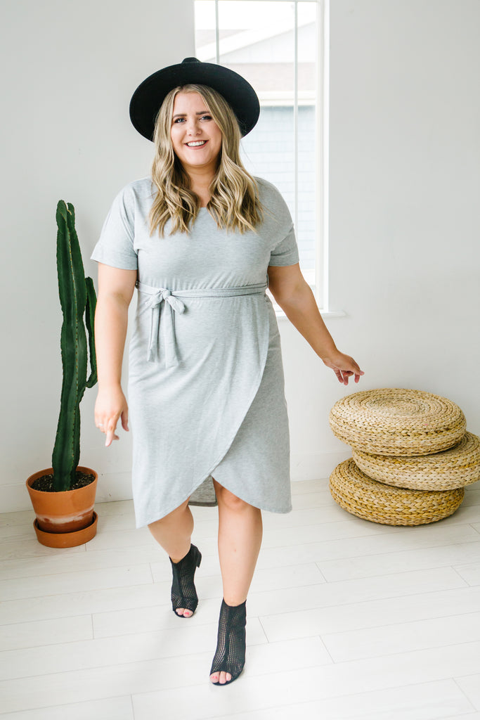 Wrap It Up Plus Size Dress