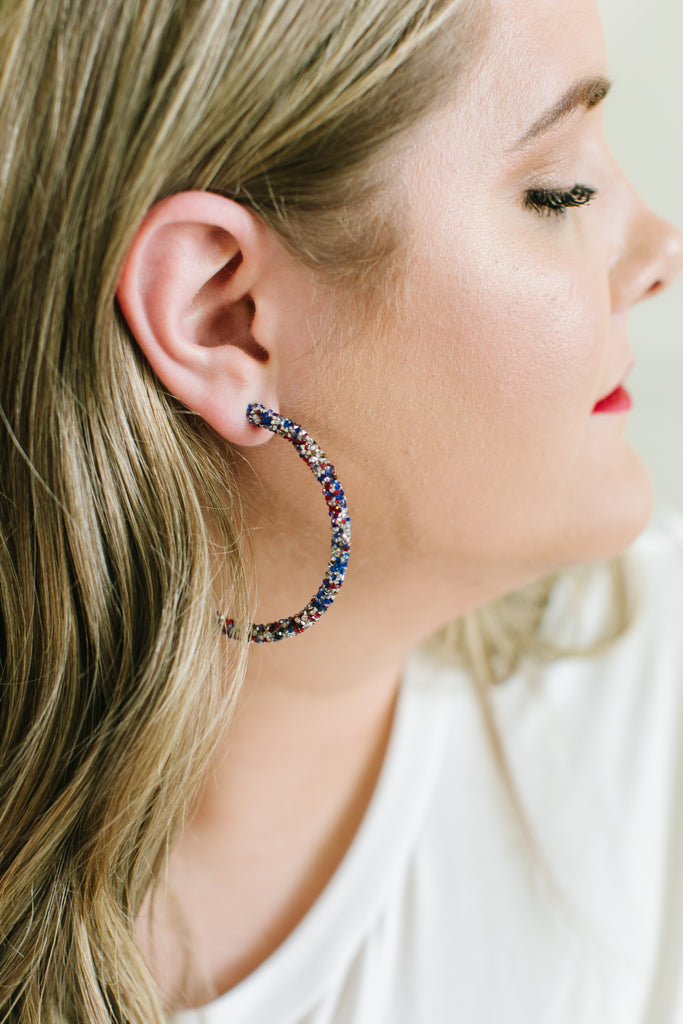 Beaded Dreams Hoop Earrings