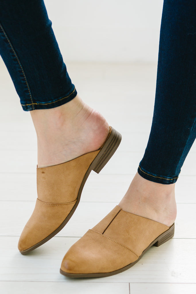 V Cut Mules | 2 Colors!