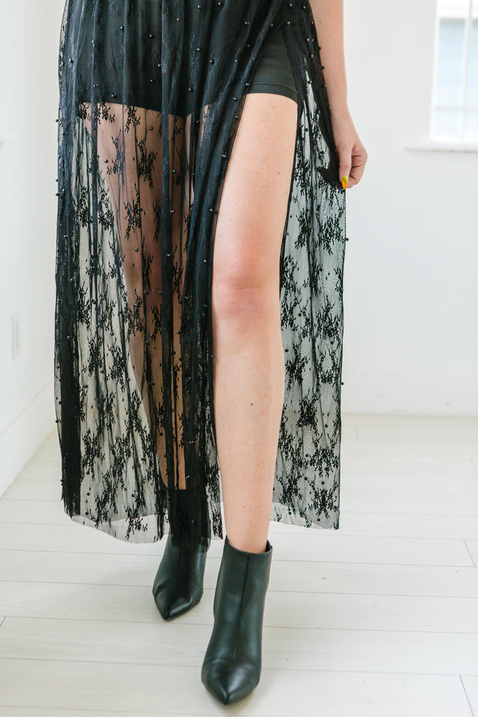 The Black Pearl Maxi Skirt