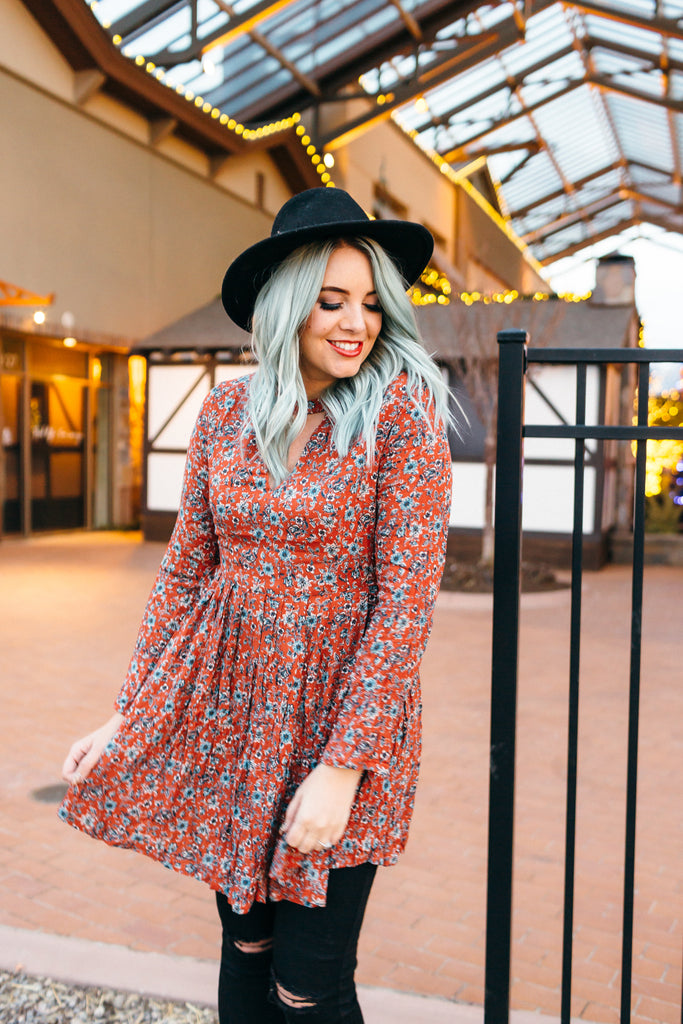 Ruby Floral Dress