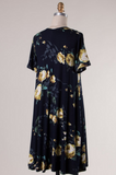 Day In and Day Out Floral Dress