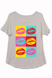 Neon Lips Tee | Up to 3XL!