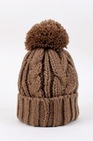 Soft Knit Beanie with Pom Pom | 6 Colors!