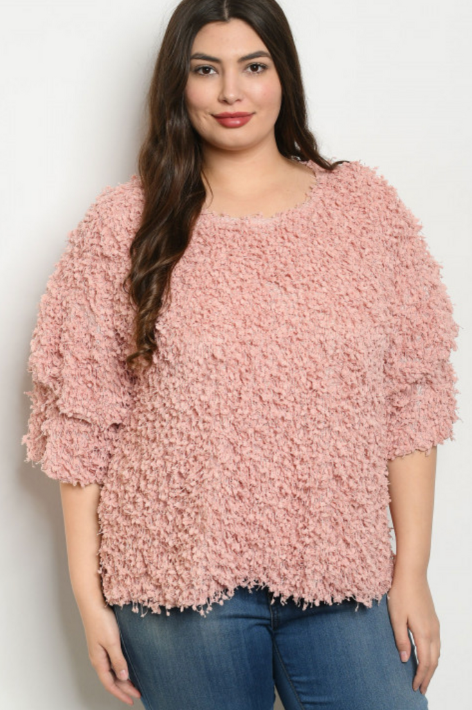 Make me Blush top | Up to 3X!
