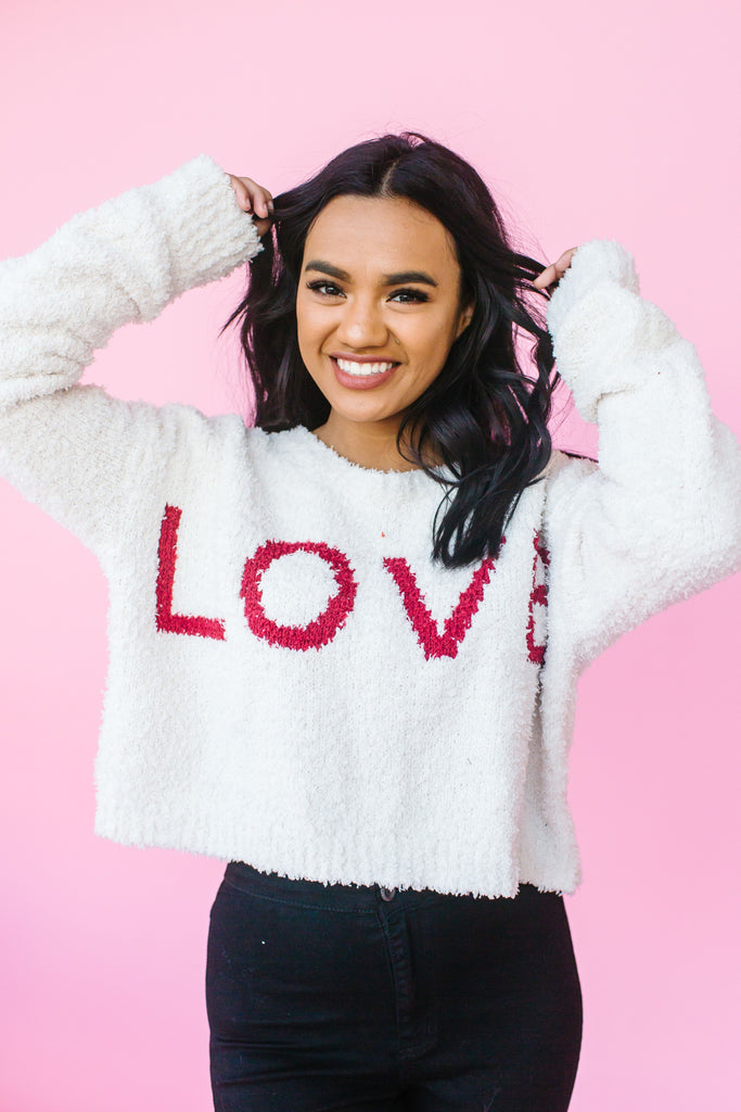 Love it or Leave It Sweater