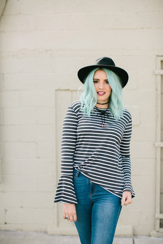 Bellisima Striped Top | 3 Colors!