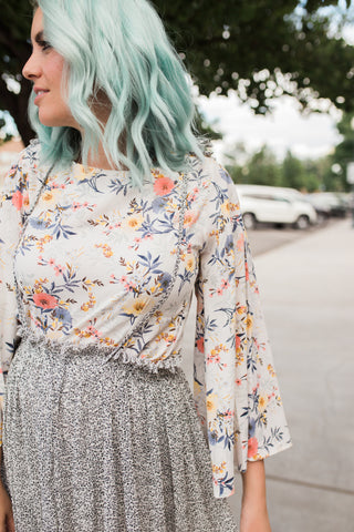 Blooming in Flare Top