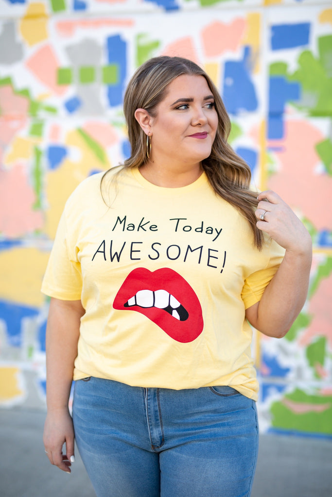Make Today Awesome Tee | Up to 3X!
