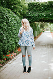 For The Love of Floral Blouse | 2 Colors!