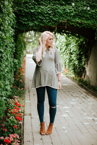 On The Edge Tunic Top | 2 Colors!