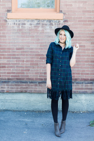 All About That Fringe Life Dress