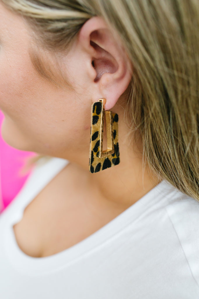 Out Of The Box Leopard Earrings