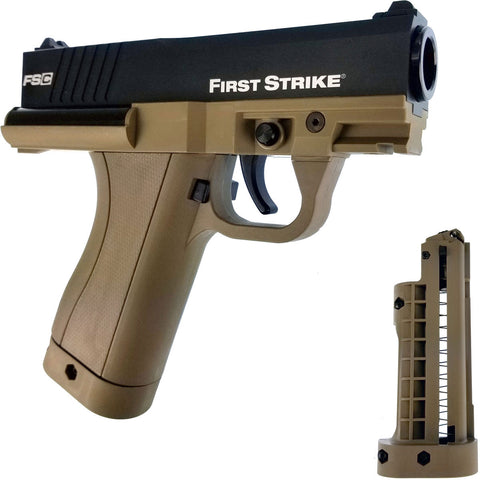 First Strike Compact FSC Pistol - Black / Tan