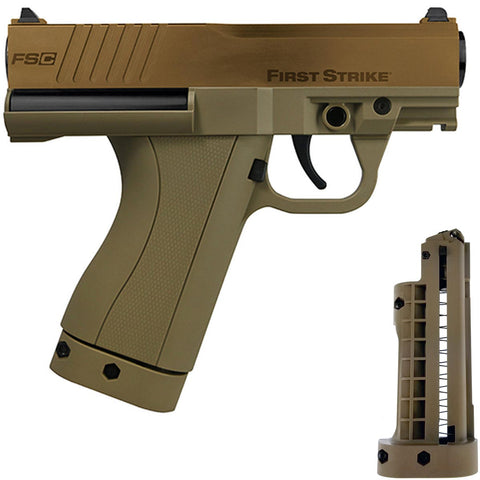 First Strike Compact FSC Pistol - Flat Dark Earth