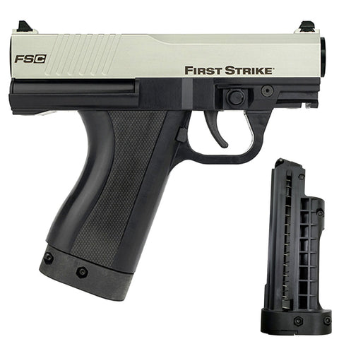 First Strike Compact FSC Pistol - Silver / Black