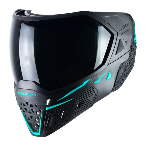 Empire EVS Paintball Mask - Black / Aqua