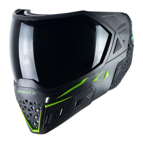 Empire EVS Paintball Mask - Black / Lime Green