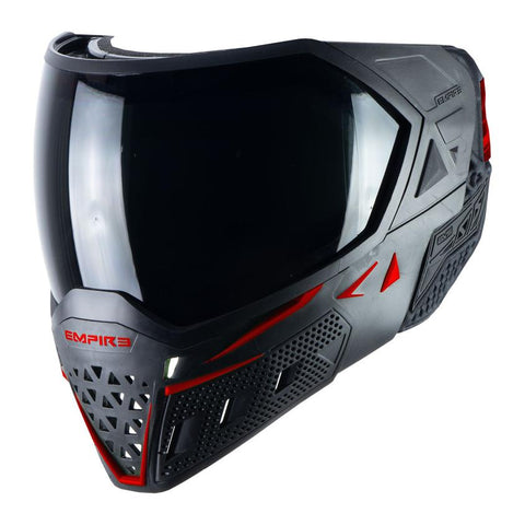 Empire EVS Paintball Mask - Black / Red