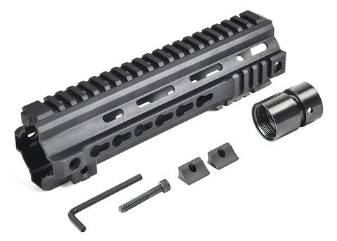 VFC Calibur 9in Keymod Rail - Black