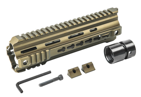 VFC Calibur 9in Keymod Rail - Bronze