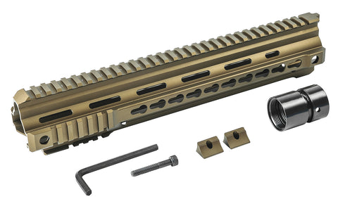 VFC Calibur 13in Keymod Rail - Bronze