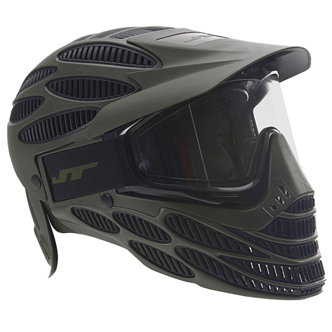 JT Flex 8 Full Cover Paintball Mask-Olive - New Breed Paintball & Airsoft