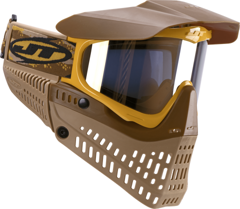 JT Proflex LE Paintball Mask-Brown-Tan-Gold - New Breed Paintball & Airsoft