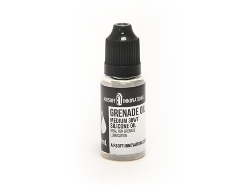 Airsoft Innovations Grenade Oil 15ml - Medium 30WT