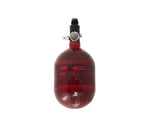 AeroLite Carbon Fiber Tank - 48ci / 4500psi  - Red - New Breed Paintball & Airsoft