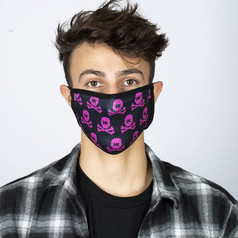 HK Army Face Mask - All Over - Pink