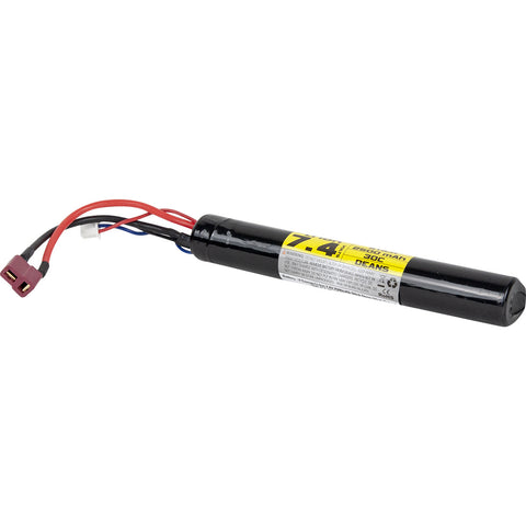 Valken Li-Ion Battery 7.4V 2500mAh 1 Cell Stick - Deans