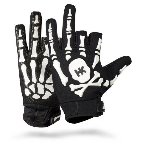 Bones Glove - White - New Breed Paintball & Airsoft