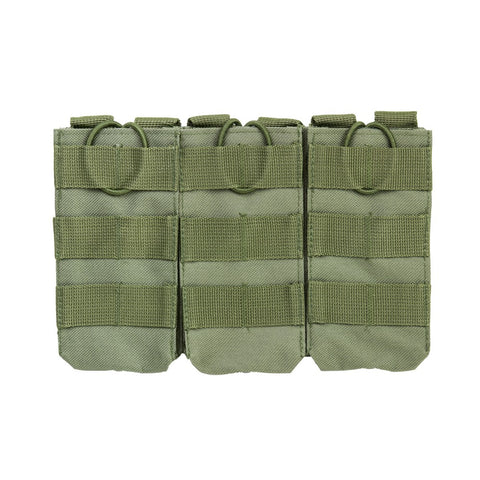 NcStar VISM Triple AR Magazine Pouch - Green