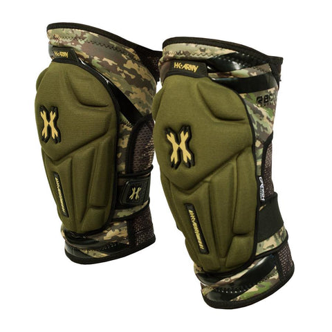 Camo Crash Knee Pads - New Breed Paintball & Airsoft