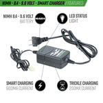 Valken NiMH Smart Battery Charger for 8.4V-9.6V