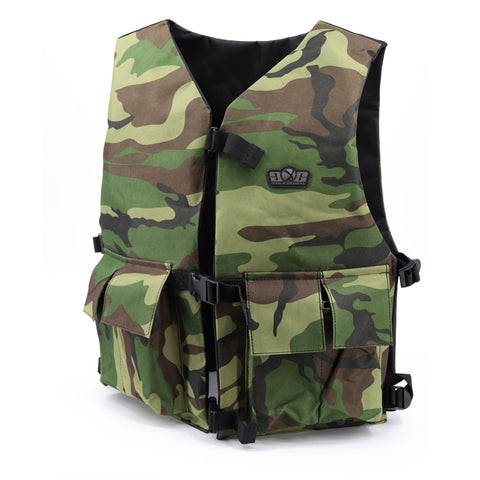 Gen X Global G-30 Chest Protector - Woodland
