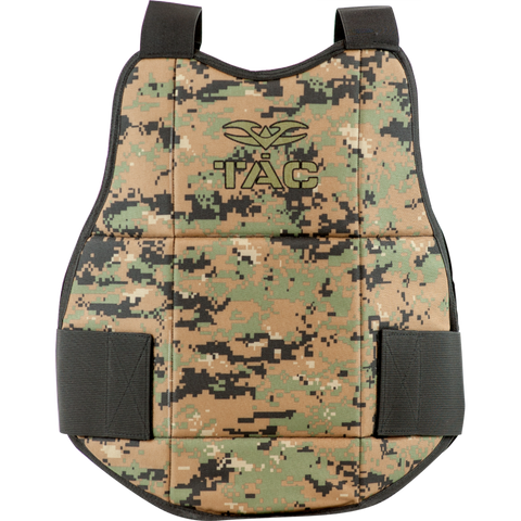 Valken Reversible Chest Protector - Black / Marpat
