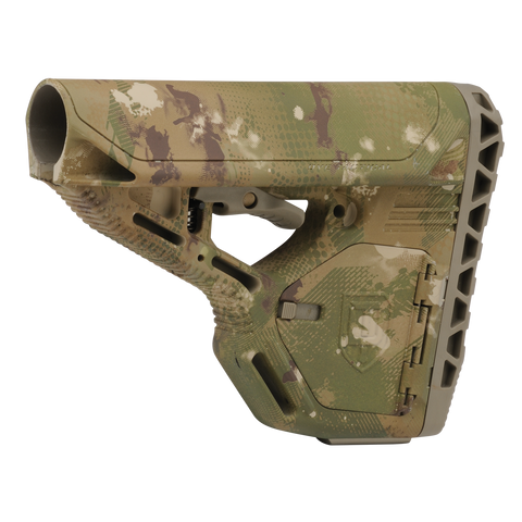 DAM Stock - Standard with Storage - DyeCam - New Breed Paintball & Airsoft
