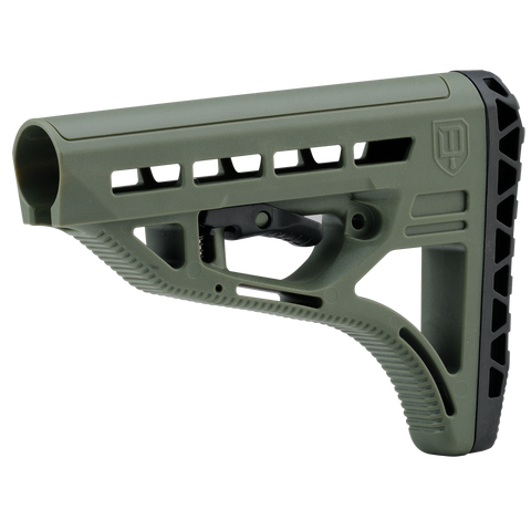 DAM Stock - Light Weight - Olive Drab - New Breed Paintball & Airsoft