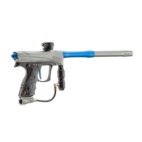 DYE Rize CZR - Grey with Blue - New Breed Paintball & Airsoft