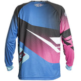 Edge - Blue/Pink - Retro Jersey - New Breed Paintball & Airsoft