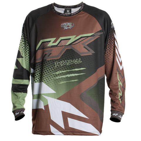 Edge - Brown/Olive - Retro Jersey - New Breed Paintball & Airsoft