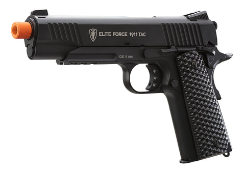 Elite Force Full Metal 1911 Tac - Black / Black