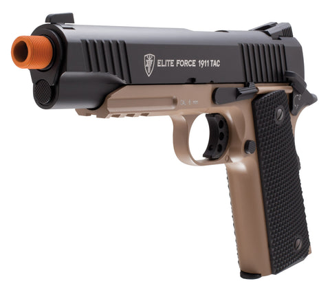 Elite Force Full Metal 1911 Tac - Black / Tan
