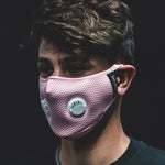 HK Army FLTRD Air - Pink - Carbon Filtered Face Mask