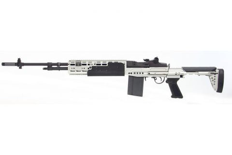 GR14 EBR Long (HBA)-Silver - New Breed Paintball & Airsoft