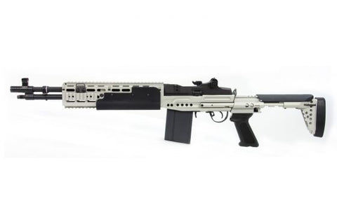 GR14 EBR Short (HBA)-Silver - New Breed Paintball & Airsoft