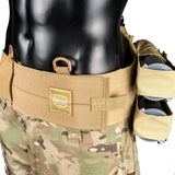 Valken V-TAC Tactical 4+1 Pod Pack - Tan - Paintball Harness